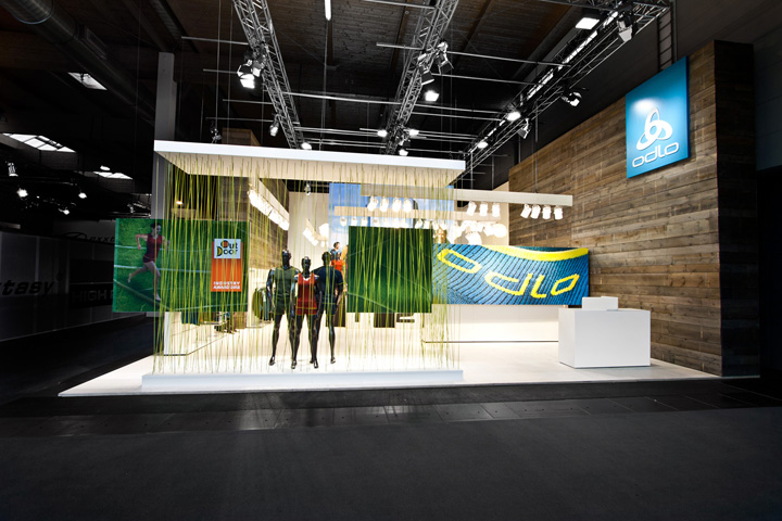 Trade Fair Stands Design : Odlo trade fair stand by laborrotwang