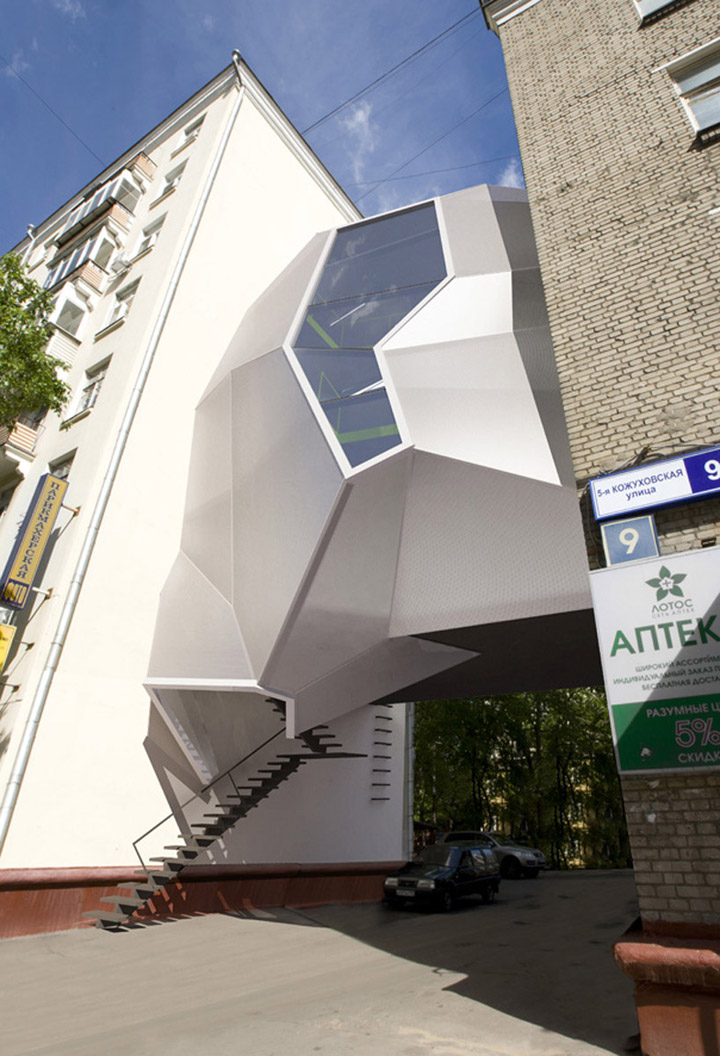 Parasite Office By Za Bor Architects Moscow 187 Retail