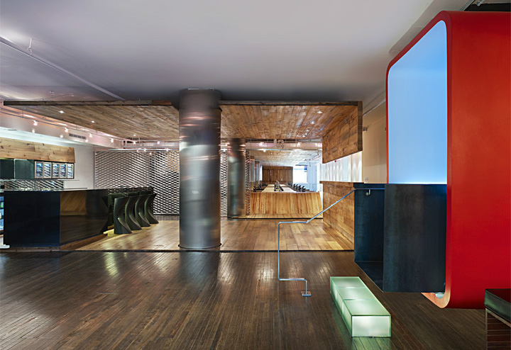 Red Bull Offices red bull officesjohnson chou, toronto » retail design blog
