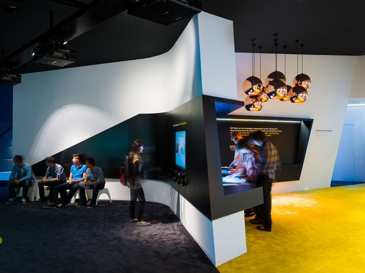 """Walldorf Germany  city pictures gallery : SAP """"40 Years of Future"""" pavilon by SCOPE, Walldorf – Germany"""