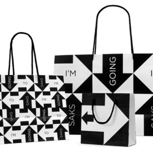 a588e11a985e Saks Fifth Avenue identity and packaging by Pentagram   OCD by retail  design blog