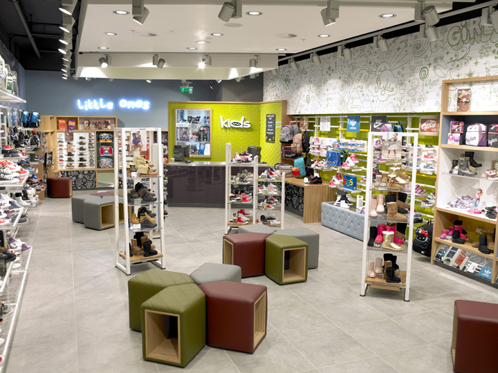 Schuh kids concept store by briggs hillier liverpool kids store