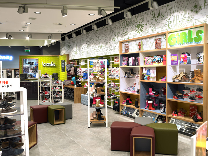huge selection of cbd73 98c1c Schuh Kids concept store by Briggs Hillier, Liverpool