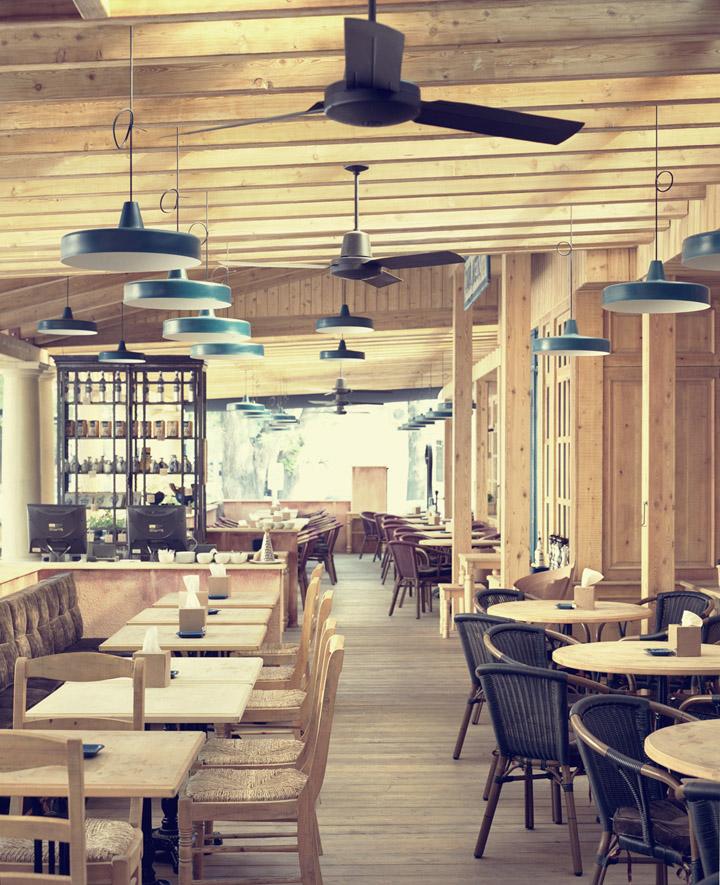Tavernetta italian cuisine restaurant by studio belenko for Cuisine designer italien
