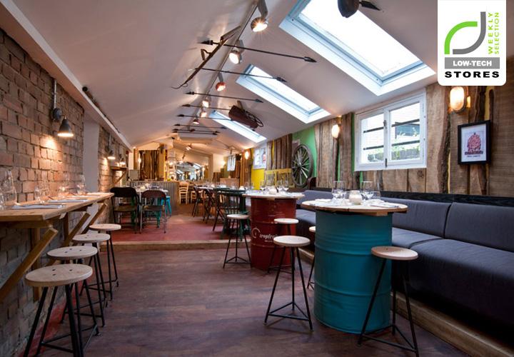 LOWTECH DESIGN The Shed restaurant London Retail Design Blog