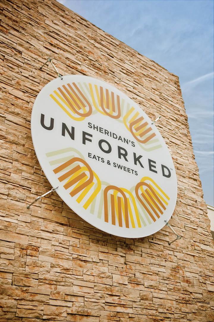 Unforked restaurant branding by design ranch retail