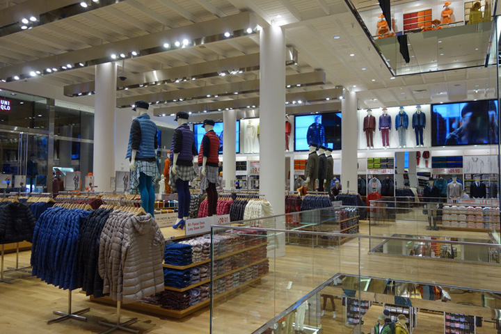 Uniqlo Flagship Store San Francisco Retail Design Blog