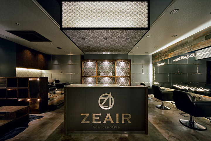 187 Zeair Hair Salon By Design Office Dress Fukuoka Japan