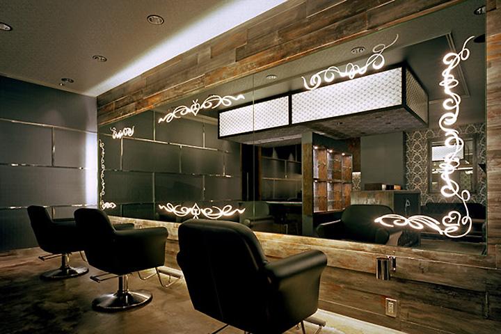» ZEAIR hair salon by design office Dress, Fukuoka – Japan