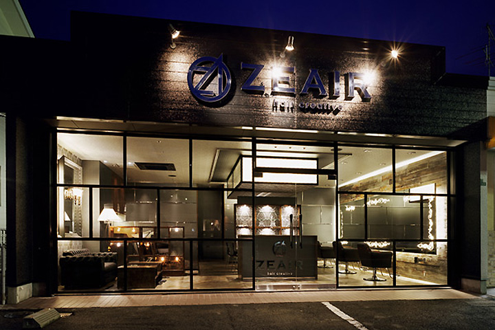 Zeair Hair Salon By Design Office Dress Fukuoka Japan