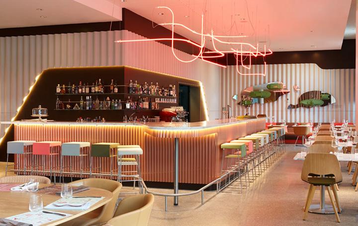 25hours hotel zurich by alfredo h berli zurich retail for Hotels 25 hours