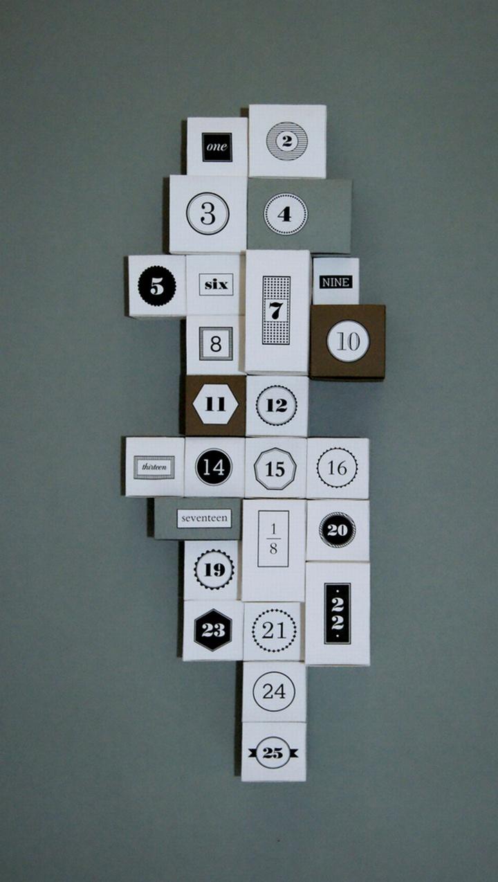 Advent Calendar by Anna Trympali » Retail Design Blog