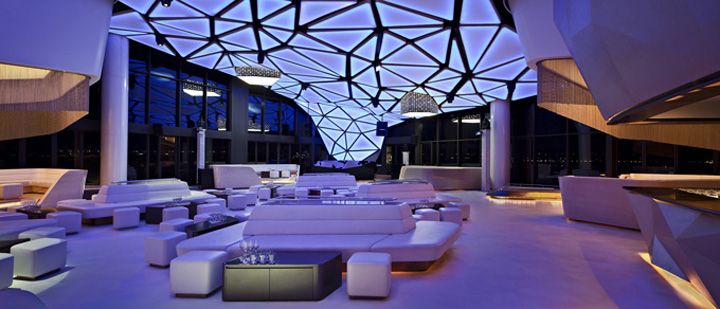 Allure nightclub by orbit design studio abu dhabi for Design restaurants club