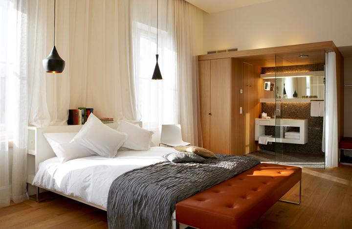 B2 boutique hotel by althammer hochuli architekten zurich for Design hotel zurich