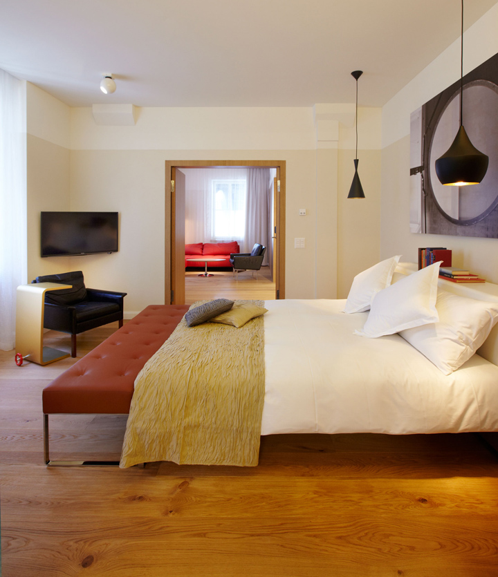B2 boutique hotel by althammer hochuli architekten zurich for Design boutique hotels schweiz