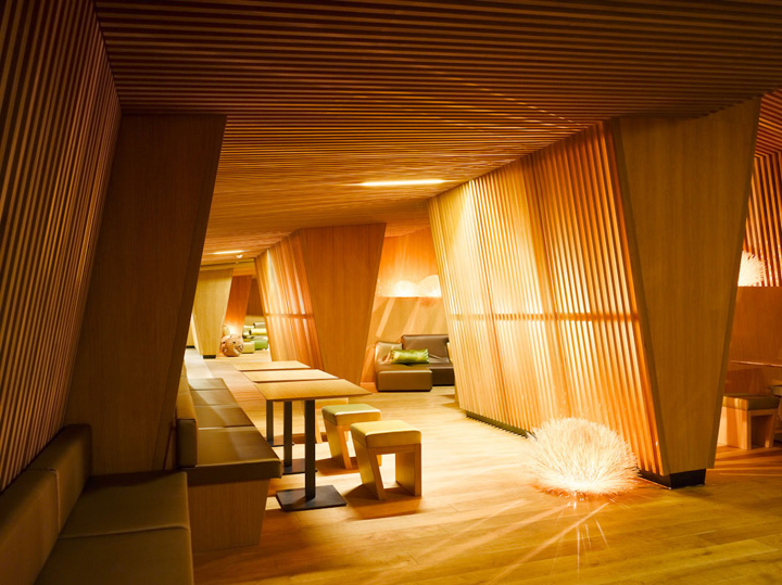 B2 boutique hotel by althammer hochuli architekten zurich for Hotel design blog