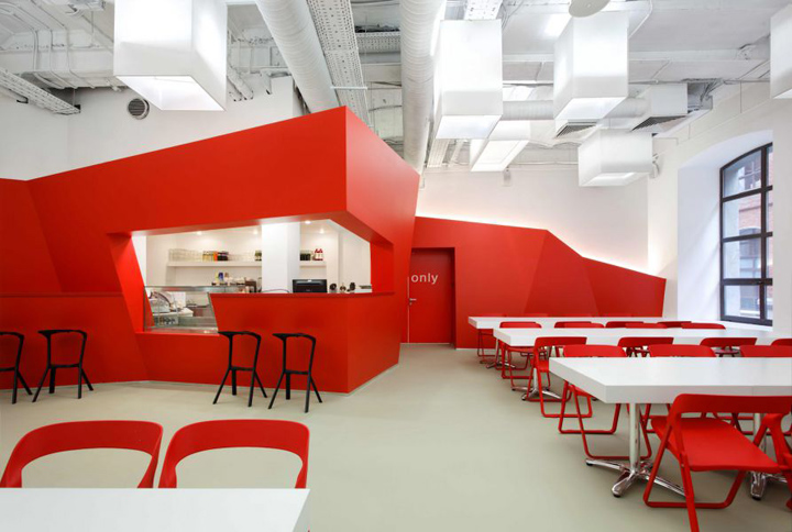 Bbdo group office by nefa research moscow retail design for Office design research