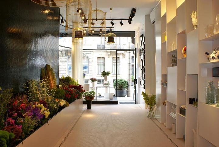 187 Bos Bloemen Flower Store By Juma Architects Ghent Belgium