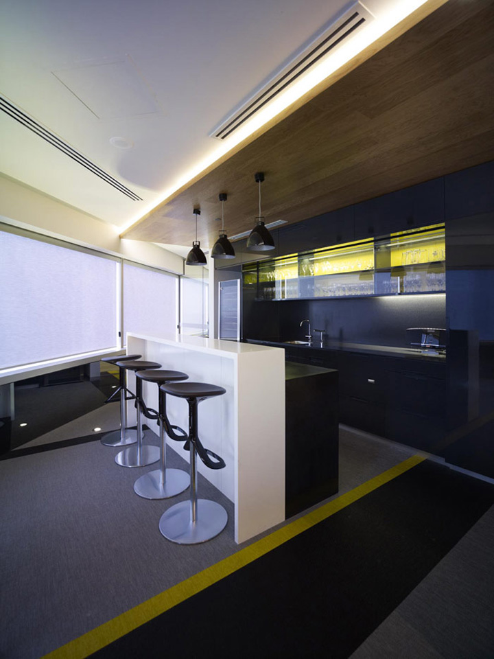 Office Break Room Design: » DLA Piper's Office By Woods Bagot, Perth