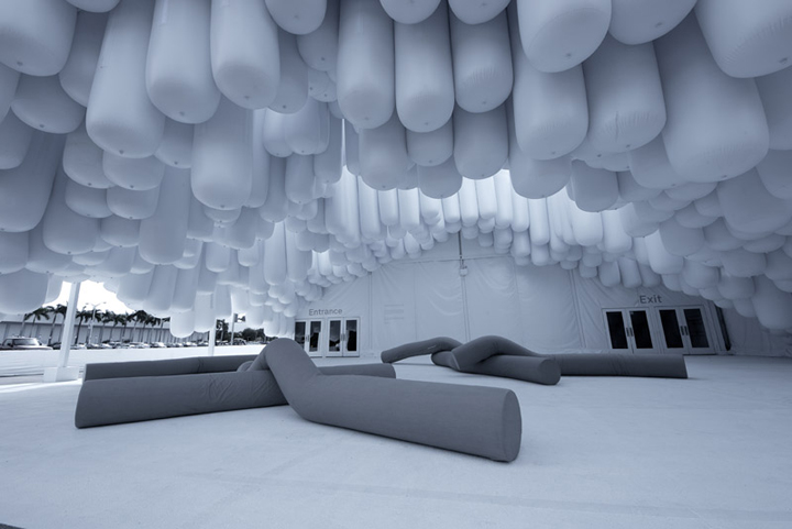 Drift Entrance At Design Miami 2012 By Snarkitecture
