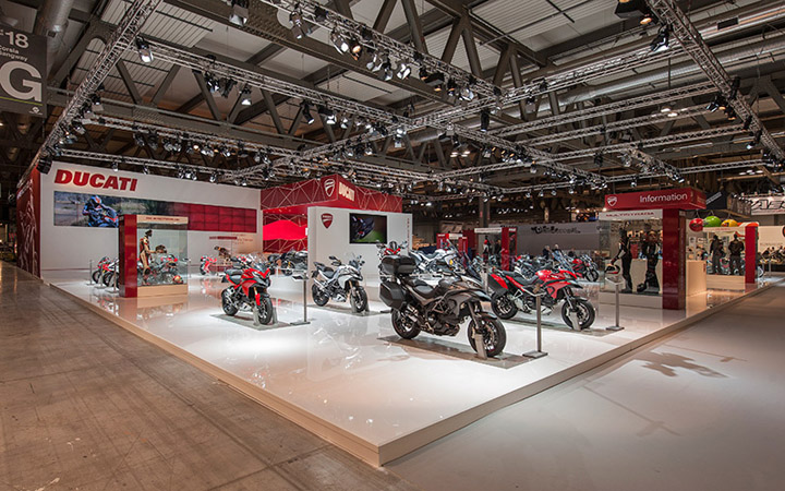 Ducati stand by POINT studio Milan Cologne 05 Ducati stand by POINT studio, Milan, Cologne