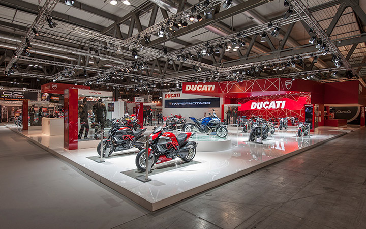 Ducati stand by POINT studio Milan Cologne 06 Ducati stand by POINT studio, Milan, Cologne
