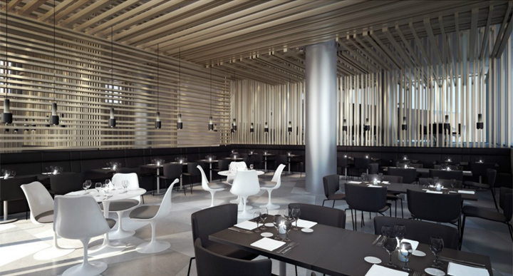 Edp restaurant by jos carlos cruz oporto portugal for Romantic restaurant san jose