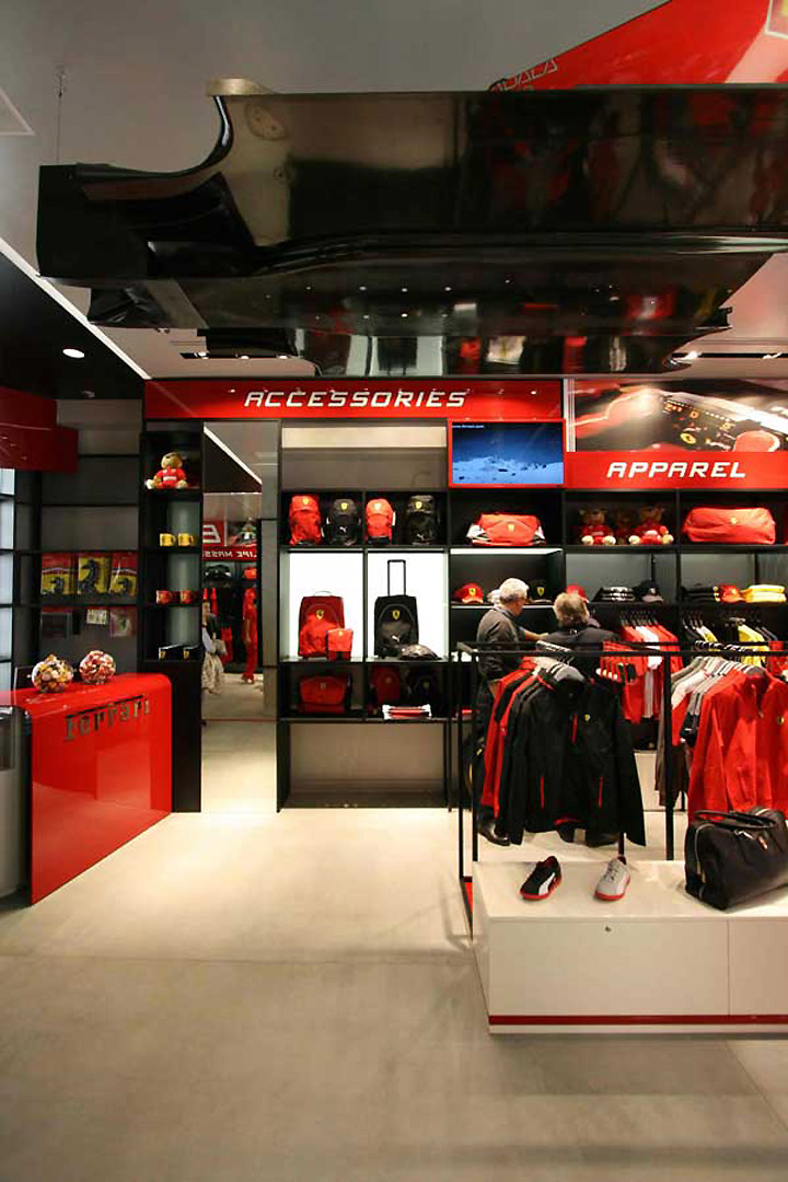 187 Ferrari Store By Iosa Ghini Associates Madrid