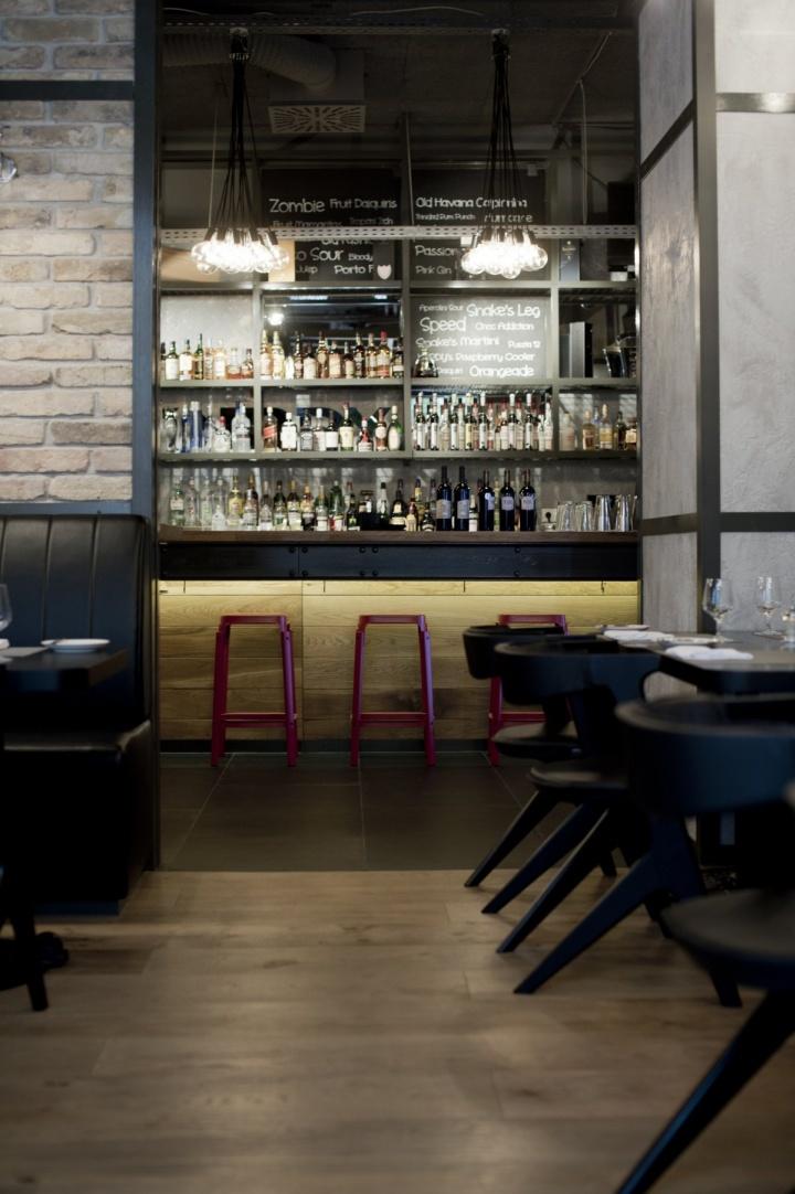 Restaurante KNRDY por Suto Interior Arquitectos Budapest 04 Restaurante KNRDY por Suto Arquitectos de Interior, Budapest