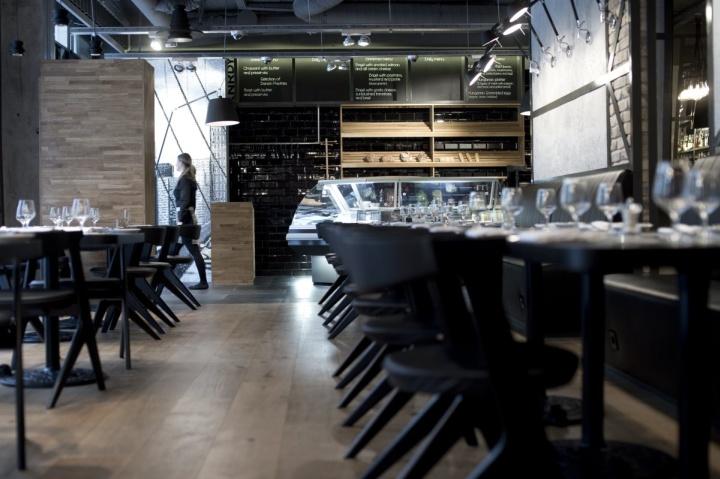 Restaurant Design Dallas : Art logic knrdy restaurant by suto interior architects