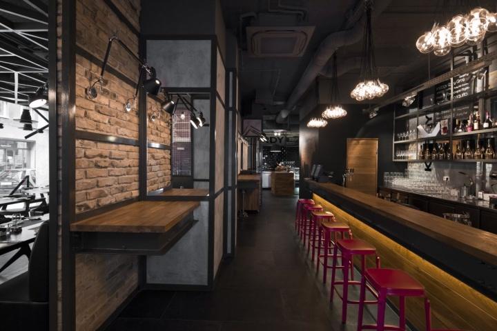 Restaurante KNRDY por Suto Interior Arquitectos Budapest 10 Restaurante KNRDY por Suto Arquitectos de Interior, Budapest