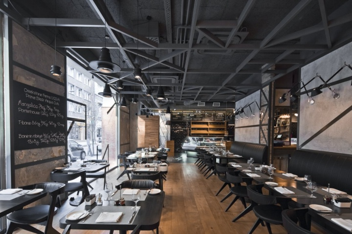 Open Small Modern Coffee Shop Interior Design Pictures To Pin On  Pin Modern Restaurant In Black And White Colors Theme Ubon Restaurant ...