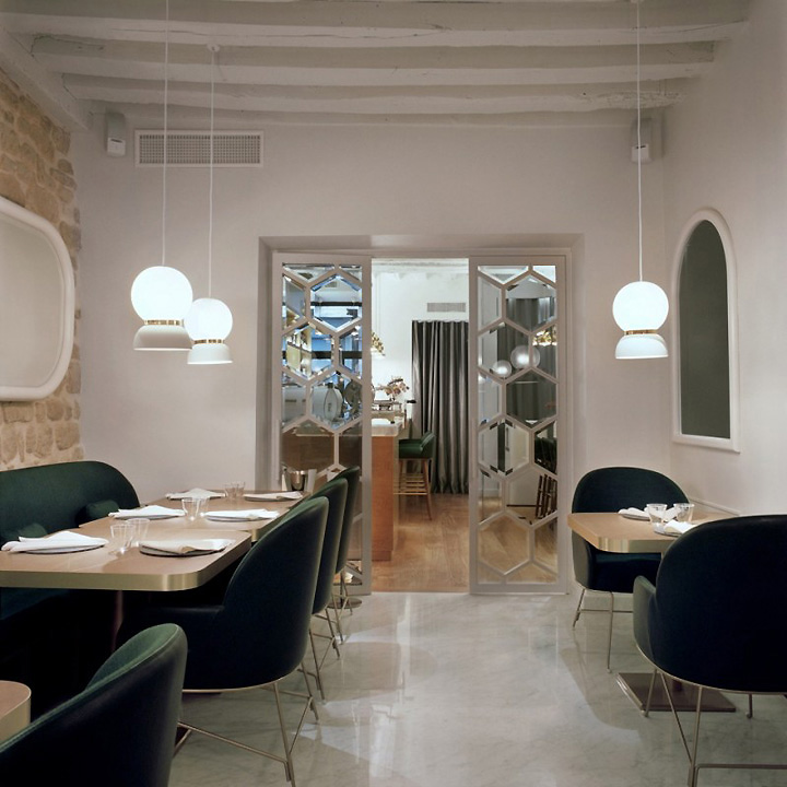Jaime hayon retail design blog for Restaurant miroir paris