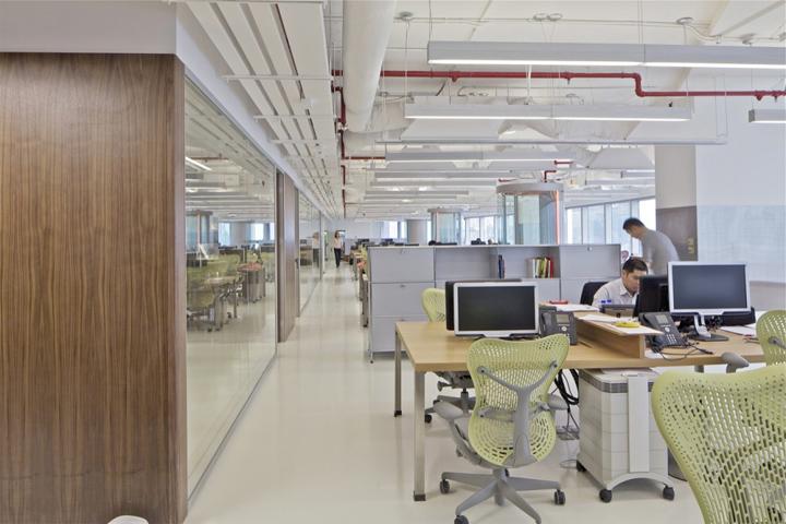 McKinsey  Company office by OMA Hong Kong  Retail Design Blog