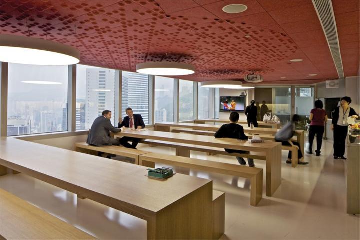 Mckinsey company office by oma hong kong retail for Interior design office hong kong