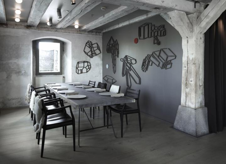 Noma restaurant by space copenhagen retail design