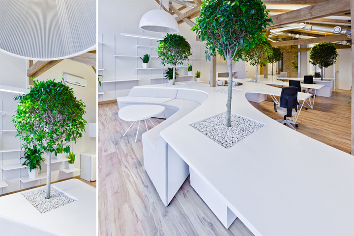 Office Greenhouse By Open Ad Riga Latvia 187 Retail