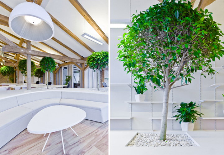Office Greenhouse by Open AD Riga  Latvia  Retail Design Blog