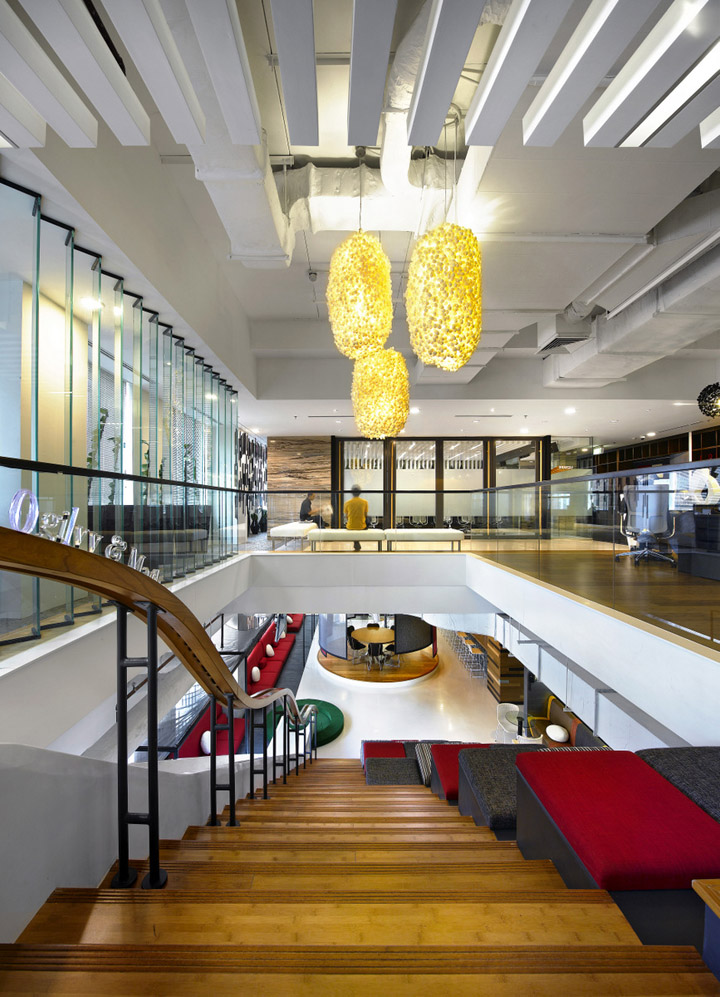 Creative offices ogilvy mather office by m moser for Interior design jakarta
