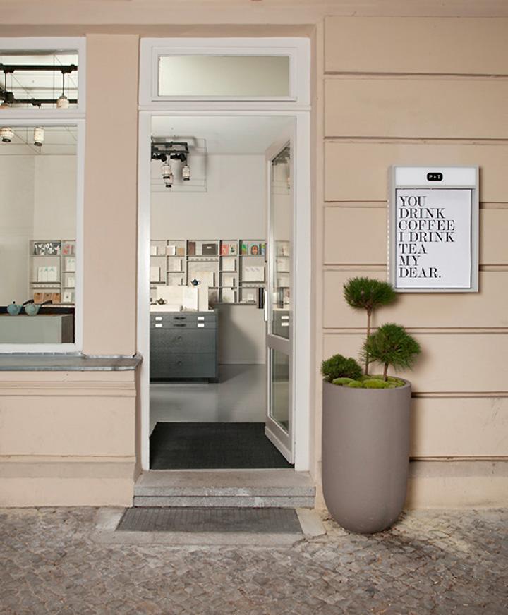 Paper Tea store Fabian von Ferrari Berlin 05 Paper & Tea store by Fabian von Ferrari, Berlin