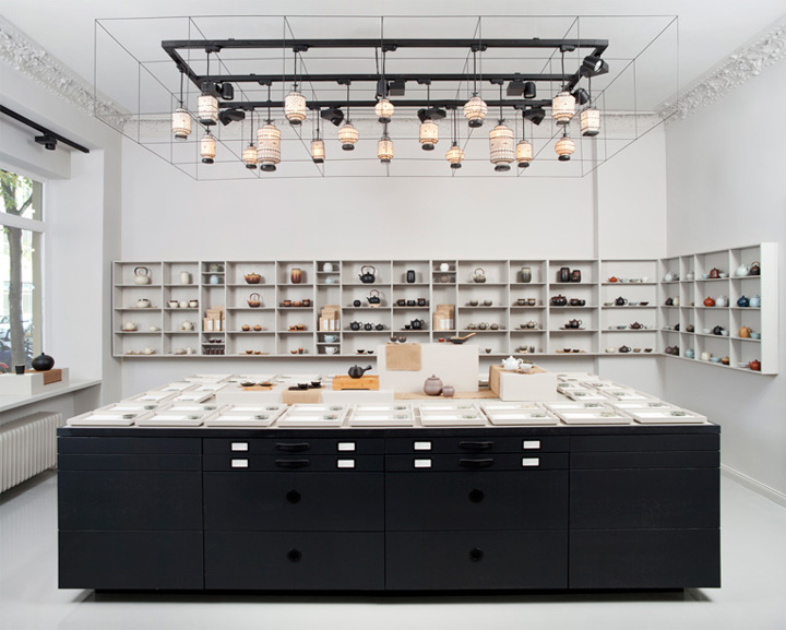 Minimalist retail design blog for Product design berlin