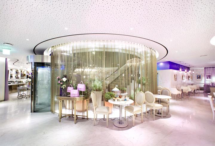 parlour haute cou tea caf by jhp seoul. Black Bedroom Furniture Sets. Home Design Ideas
