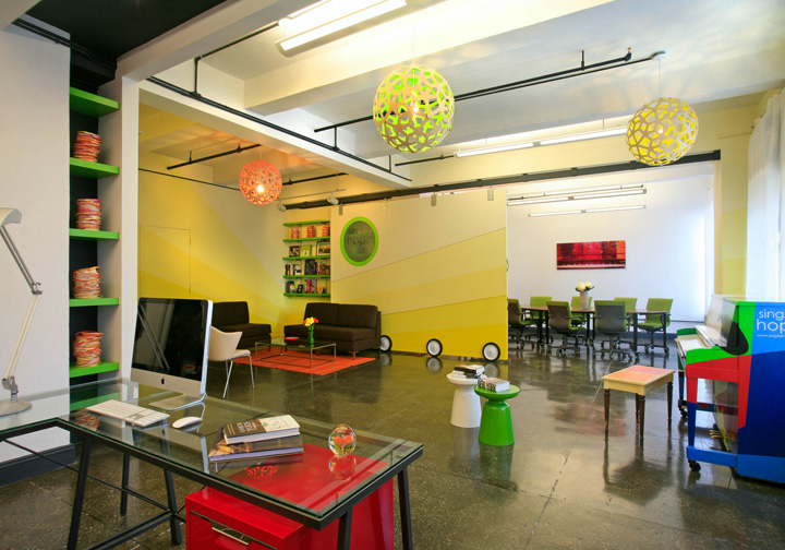 Sing For Hope Office By Rodrguez Studio New York