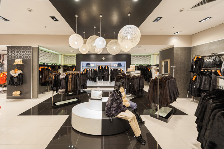 Snow Queen Store By CampbellRigg Moscow Retail Design Blog