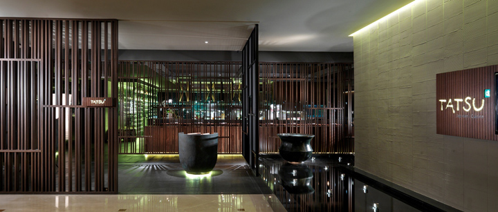Tatsu japanese cuisine by blu water studio kuala lumpur retail design blog - Bar cuisine studio ...
