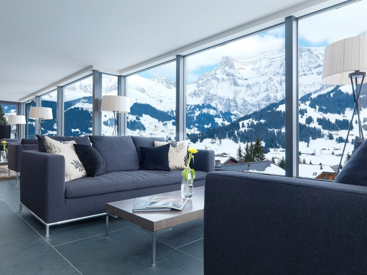 The cambrian hotel by peter silling associates for Hotel design geneve