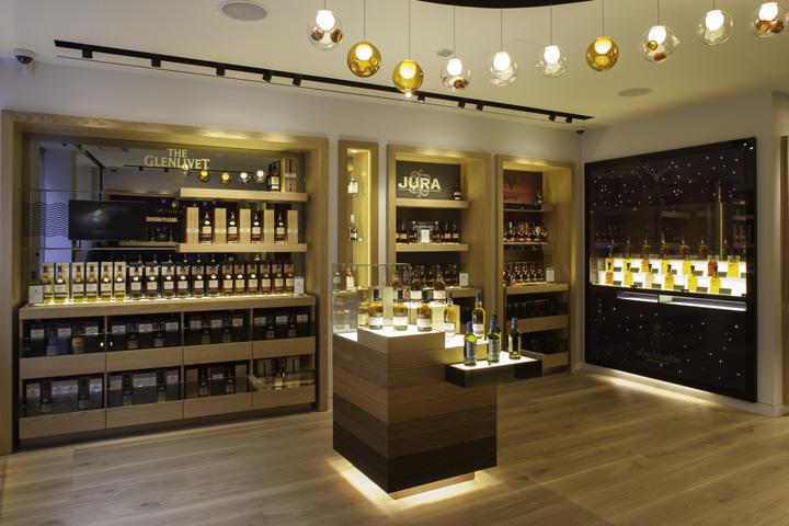 the whisky shop flagship store by gpstudio london retail design blog. Black Bedroom Furniture Sets. Home Design Ideas