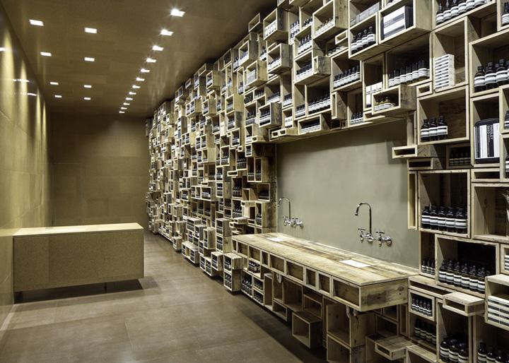 Aesop store by nadaaa san francisco retail design blog - Decoratie recup ...