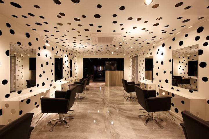 Ajax salon by Yasunari Tsukada design, Osaka – Japan » Retail Design Blog -> Salon Design