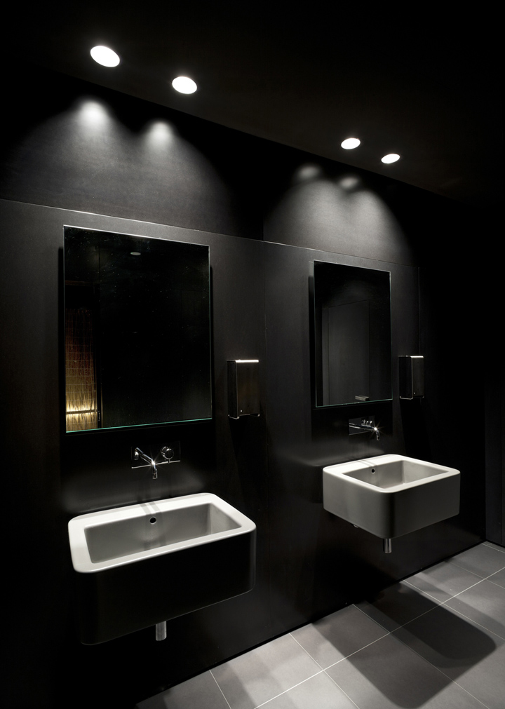 Restaurant Toilet Layout : Al punto restaurant by estudio madrid